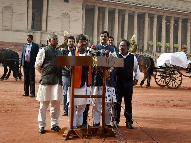 BJP delegation meets Prez